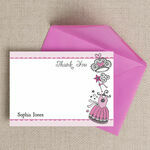 Fairy Princess Thank You Cards additional 1