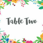 Floral Fiesta Table Name additional 1
