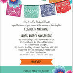 Mexican Fiesta Wedding Invitation additional 2