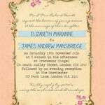 Pastel Pretty Wedding Invitation additional 2