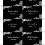 Romantic Lace Escort Cards - Set of 8 additional 4