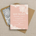 Romantic Lace Pattern Sheet/Envelope Liner additional 2