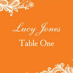 Romantic Lace Escort Cards - Set of 8 additional 1