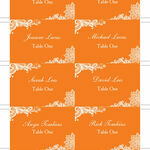 Romantic Lace Escort Cards - Set of 8 additional 2