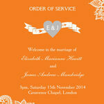 Romantic Lace Order of Service Cover additional 4