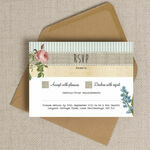 Rustic Botanical RSVP additional 2
