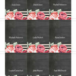 Rustic Floral Place Cards - Set of 9 additional 2