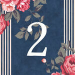 Rustic Floral Table Number additional 4