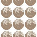 Rustic Lace Sticker Sheet additional 1