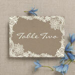 Rustic Lace Table Name additional 2