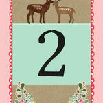 Rustic Woodland Table Number additional 1