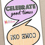 Printable Speech Bubble Slogan Props additional 3