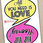 Printable Speech Bubble Slogan Props additional 2