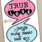 Printable Speech Bubble Slogan Props additional 4