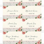 Sweet Vintage Escort Cards - Set of 8 additional 2