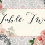 Sweet Vintage Table Name additional 1