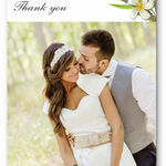 Tropical Beach Thank You Card additional 1