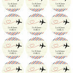 Vintage Airmail Sticker Sheet additional 1