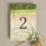 Wild Garden Table Number additional 2