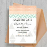 Pastel Bohemian Save the Date additional 4