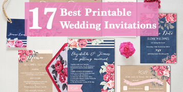 17 best printable print your own DIY wedding invitations invites templates by hip hip hooray.com