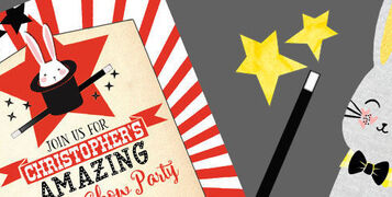 Banner-Image-magic-show-magician-abracadabra-childrens-kids-party-Invitations-Invites-by-Hip-Hip-Hooray