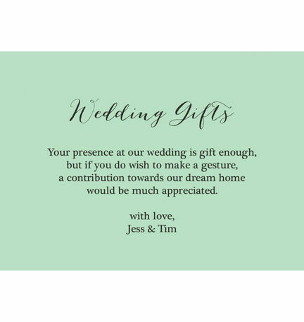 Asking For Money For Wedding Gift Poem Gift Ideas