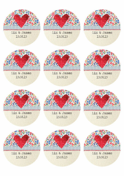Country Textiles Sticker Sheet