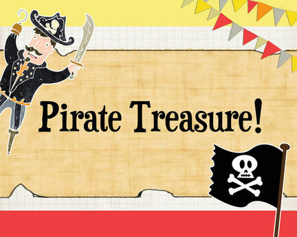 Pirate Party Party Sign/Poster