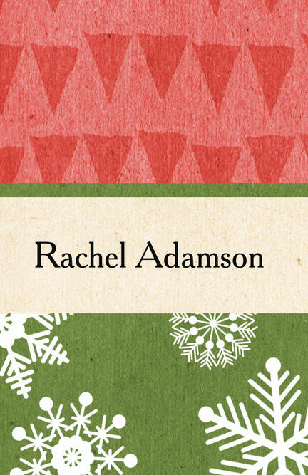 Rustic Winter Place Cards - Set of 9
