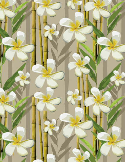 Tropical Beach Pattern Sheet/Envelope Liner