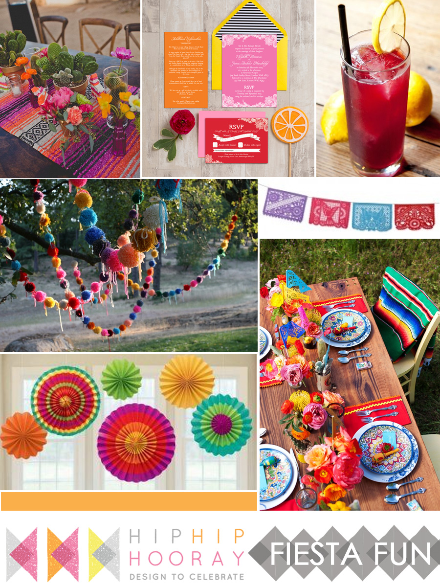 & Fiesta! Mexican inspired wedding u0026 party inspiration