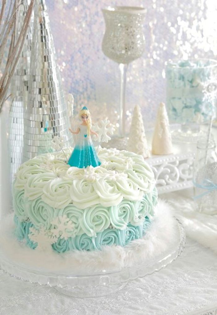 Birthday Cake For Frozen Party Image Inspiration of Cake and
